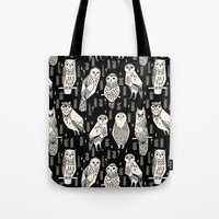 Parliament Of Owls By An… Tote Bag