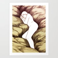 Sleeping Ghost Art Print