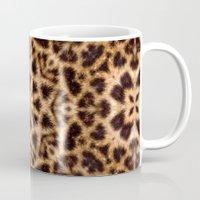 Leopard Fur Abstract Kal… Mug