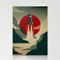 Stationery Cards featuring The Voyage by The Art Of Danny Haa…