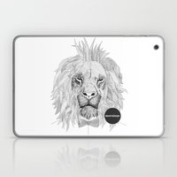 Asleep lion Laptop & iPad Skin