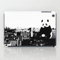 Giant Panda Invades Toa Payoh. iPad Case
