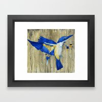 The Thing With Technolog… Framed Art Print