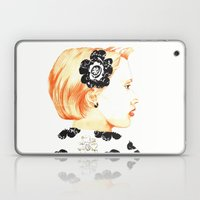 Illustration With Black … Laptop & iPad Skin