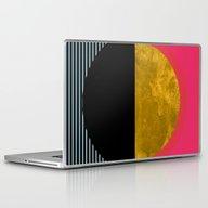 Abstract Sunset Laptop & iPad Skin