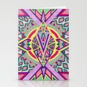 Abstract Journey Stationery Cards