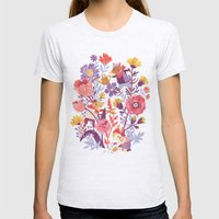 The Garden Crew Womens Fitted Tee Ash Grey SMALL