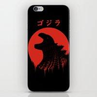 Kaiju Regeneration iPhone & iPod Skin
