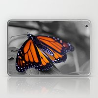 Monarch BW Laptop & iPad Skin