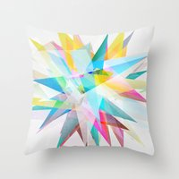 Colorful 4 Throw Pillow