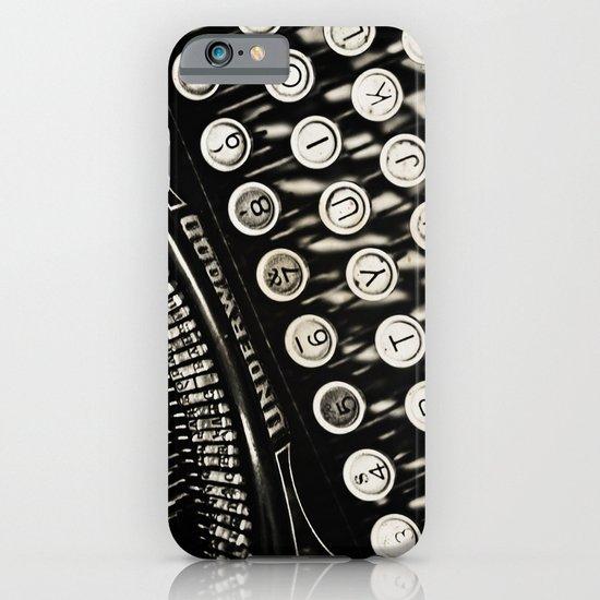Underwood  typewriter  iPhone & iPod Case