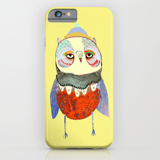 Owl Chick iPhone & iPod Case