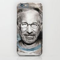 iPhone & iPod Case featuring Steven Spielberg by Denise Esposito