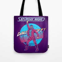 Saturday Night Dance-Off Tote Bag