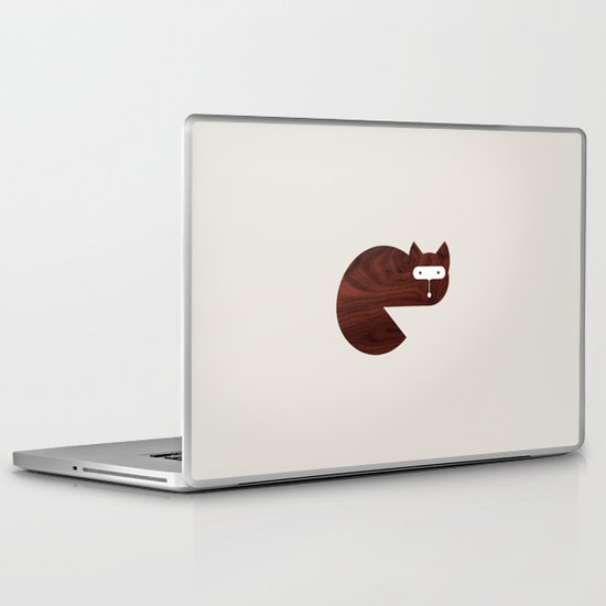 Minanimals: Fox Laptop & iPad Skin