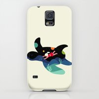 Galaxy S5 Cases featuring Ocean Roaming by Andy Westface