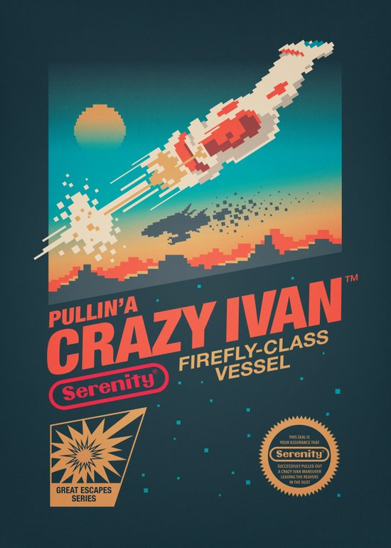 Crazy Ivan Canvas Print