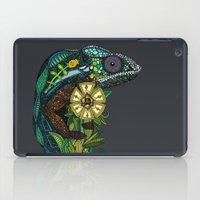 chameleon pewter iPad Case