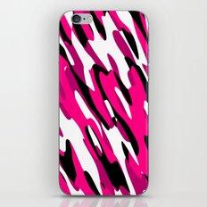 Black White and Pink Camo iPhone & iPod Skin