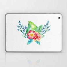 Thank you! - Tropical Watercolour Bouquet Laptop & iPad Skin