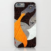 iPhone & iPod Case featuring What Chance do Men Stand by Elizabeth Kidder