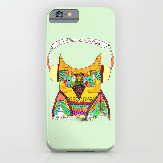The Owl rustic song iPhone & iPod Case