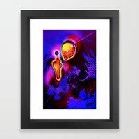 Spiritual Alignment Framed Art Print