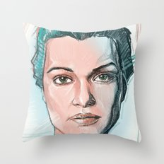 rachel weisz Throw Pillow