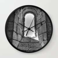 Medieval Window Wall Clock