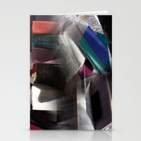 Book collage Stationery Cards