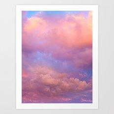 See the Dawn (Dawn Clouds Abstract) Art Print
