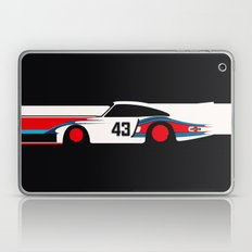 Moby Dick - Vintage Porsche 935/70 Le Mans Race Car Laptop & iPad Skin