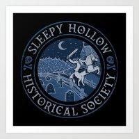 Sleepy Hollow Historical Society Art Print