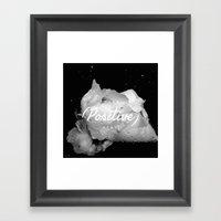 inspirational post  Framed Art Print