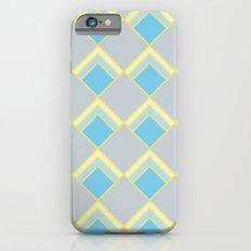 Diamond Art Deco; - Blue Slim Case iPhone 6s
