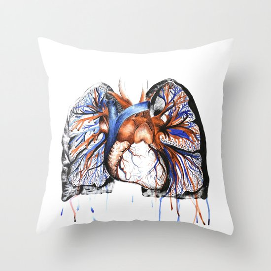 Rhythm  Throw Pillow