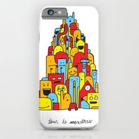 iPhone & iPod Case featuring Monster Tower by David Stanfield