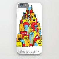 Monster Tower iPhone 6 Slim Case