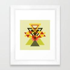 MOUNTAINS THROUGH MOUNTAINS  Framed Art Print