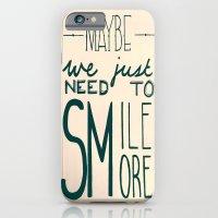 Smile More iPhone 6 Slim Case