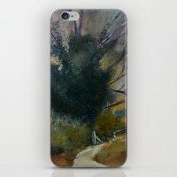 English Tree Study iPhone & iPod Skin