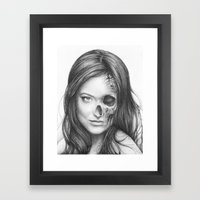 Thirteen Olivia Wilde Framed Art Print