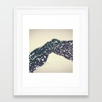 Bonebreathing II Framed Art Print