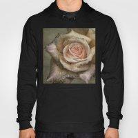 Vintage Rose With Water … Hoody