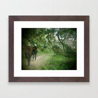 Forest Walks Framed Art Print