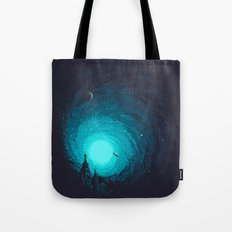 Calm Night To Fly Tote Bag