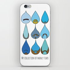 My Collection of Manly Tears iPhone & iPod Skin