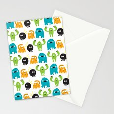 Monstrillos  Stationery Cards