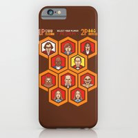 iPhone & iPod Case featuring 8 Bit Shining by Tom Burns