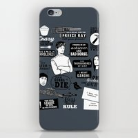 Horrible's Quotes iPhone & iPod Skin
